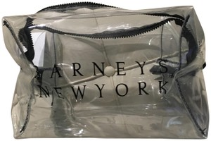 Barneys New York Cosmetic Makeup Bag Zipper