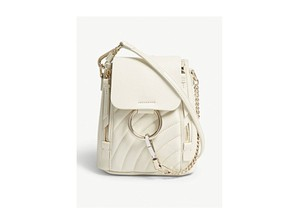Chloé Leather Backpack