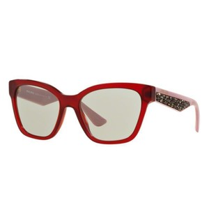 8feb7f7f08 Miu Miu Cat Eye Women MU06RSA TKW5J0 Plastic Anti-Reflective Lens Sunglasses