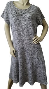 Last Exit No Iron Comfortable Stretch Up Or Down Dress