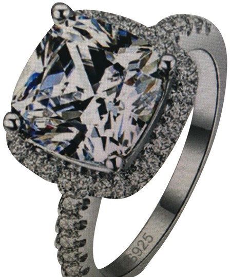Preload https://img-static.tradesy.com/item/23995866/white-silver-antique-solitaire-square-diamond-statement-cocktail-fashion-engagement-wedding-ring-0-1-540-540.jpg