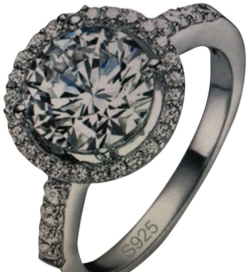 Preload https://img-static.tradesy.com/item/23995895/silver-white-antique-diamond-solitaire-round-fashion-engagement-cocktail-wedding-solitaire-ring-0-1-540-540.jpg