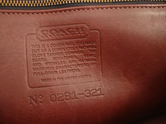 Coach Messenger Briefcase Crossbody Laptop Bag Image 8
