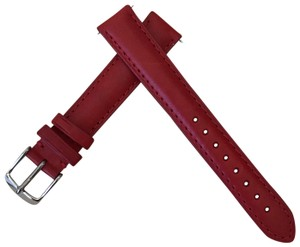 Michele NWT MICHELE WATCH STRAP 16mm Red MS16AA270600