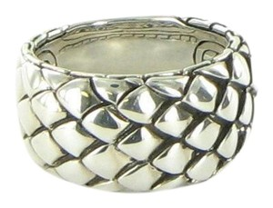 John Hardy Legends Cobra Silver Band Ring Sterling Silver RB97139X7
