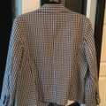 Ann Taylor Blank White Check Business Or Casual Blazer Size 14 (L) Ann Taylor Blank White Check Business Or Casual Blazer Size 14 (L) Image 6