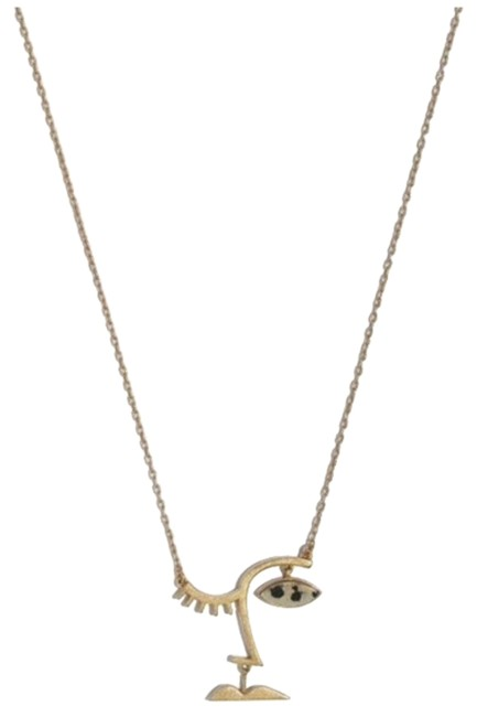 Madewell New Face Value Pendant Necklace Madewell New Face Value Pendant Necklace Image 1