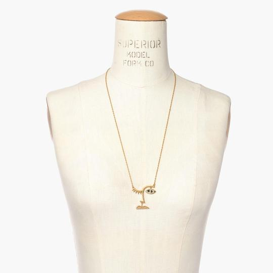Madewell NEW Madewell Face Value Pendant Necklace Image 1