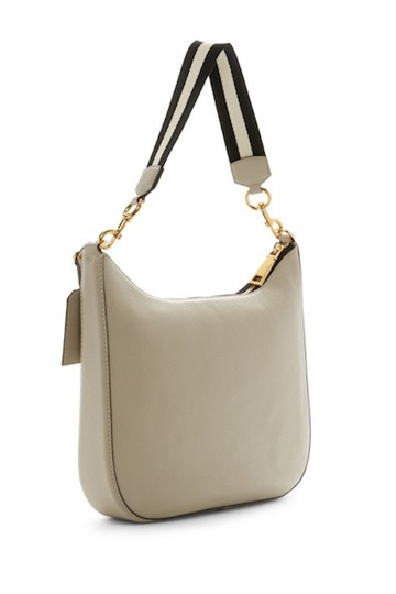 Marc Jacobs Gotham City Off-white Pebble Leather Shoulder M0008287 Hobo Bag Image 1