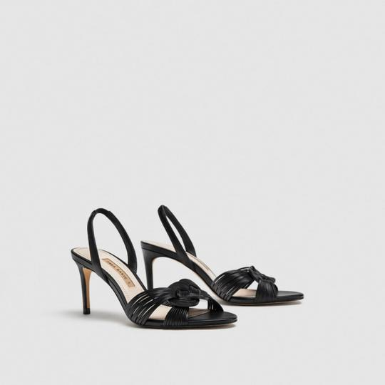 Zara Black Sandals Image 4