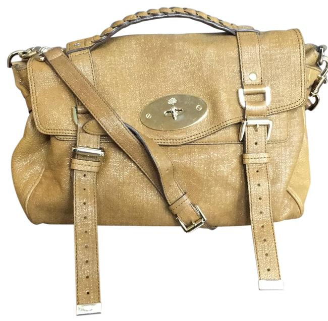 Mulberry Small Alexa Brown Leather Satchel Mulberry Small Alexa Brown Leather Satchel Image 1