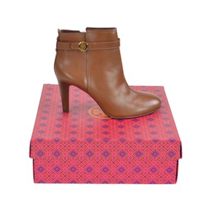 Tory Burch 8.5 Brown Leather Heel Almond Boots
