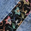 Guess By Marciano Embroidered Music Festival Hippie Skirt denim Image 3