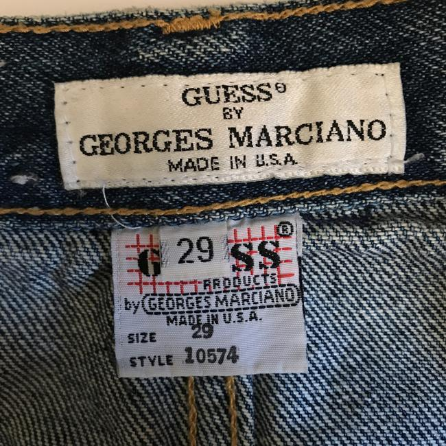 Guess By Marciano Embroidered Music Festival Hippie Skirt denim Image 4