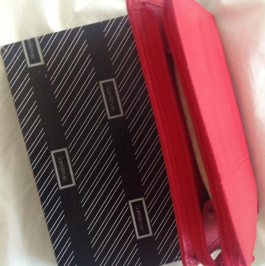 Versace GIANNI VERSACE Woman's vintage red leather wallet Made in Italy Image 6