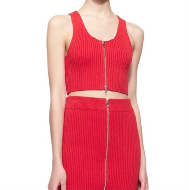 T by Alexander Wang Top red Image 2