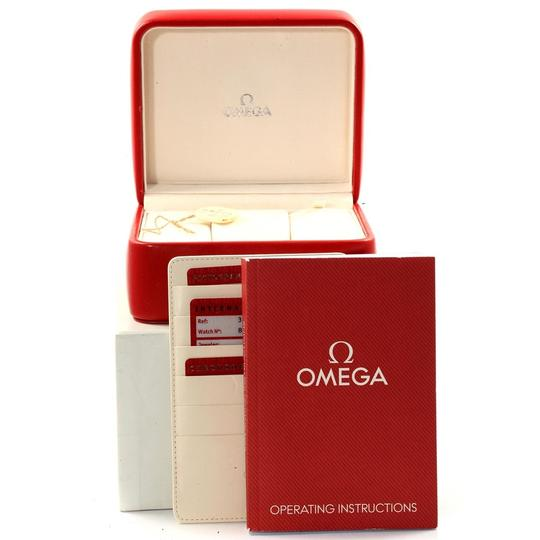 Omega Omega Speedmaster Chronograph Steel Mens Watch 3211.30.00 Box Card Image 10