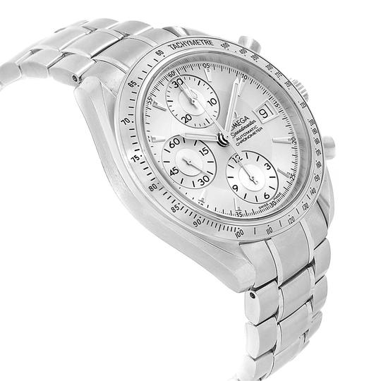 Omega Omega Speedmaster Chronograph Steel Mens Watch 3211.30.00 Box Card Image 2