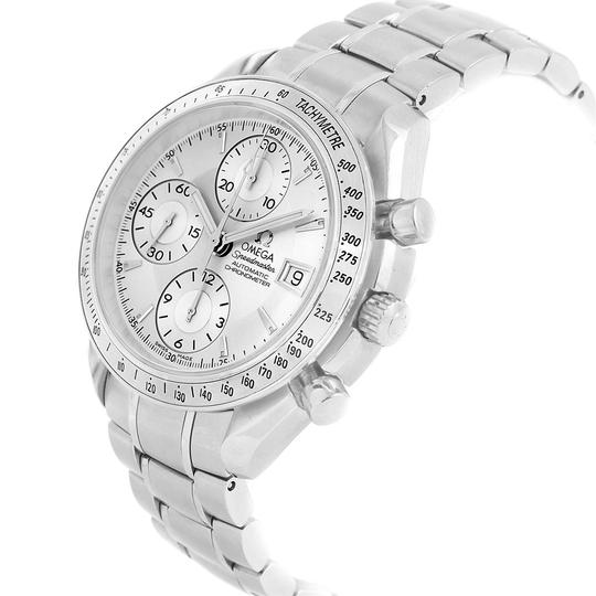 Omega Omega Speedmaster Chronograph Steel Mens Watch 3211.30.00 Box Card Image 3