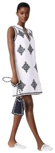 Tory Burch short dress White / Navy on Tradesy