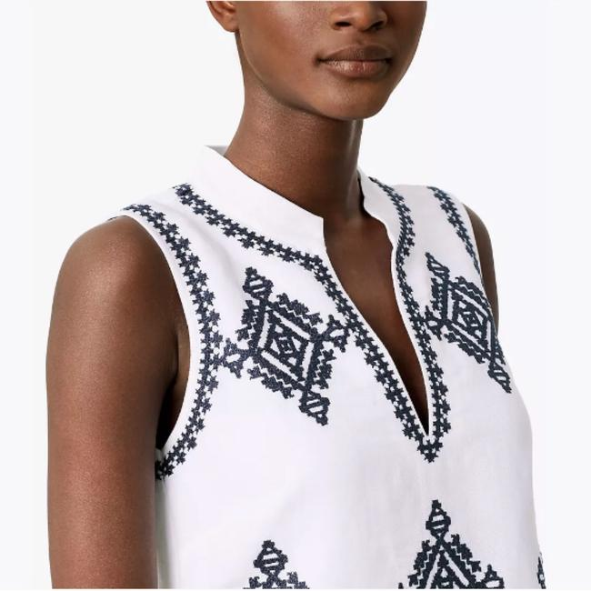 Tory Burch short dress White / Navy on Tradesy Image 2