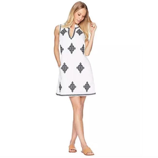 Tory Burch short dress White / Navy on Tradesy Image 4