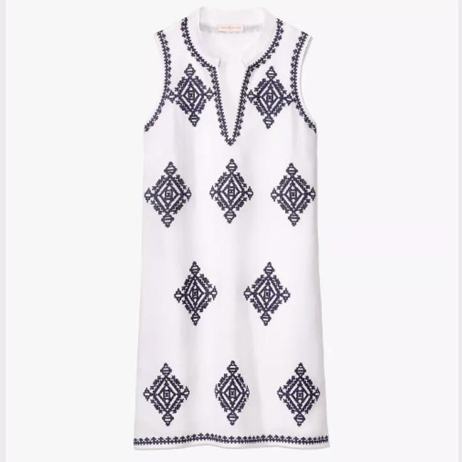 Tory Burch short dress White / Navy on Tradesy Image 8