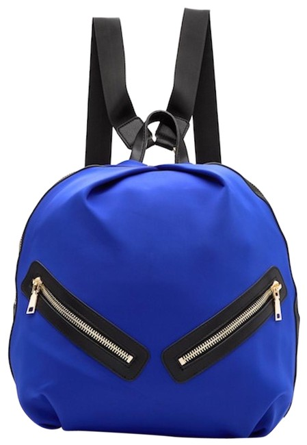 Urban Expressions Relay Blue Neoprene Exterior Textile Lining Backpack Urban Expressions Relay Blue Neoprene Exterior Textile Lining Backpack Image 1