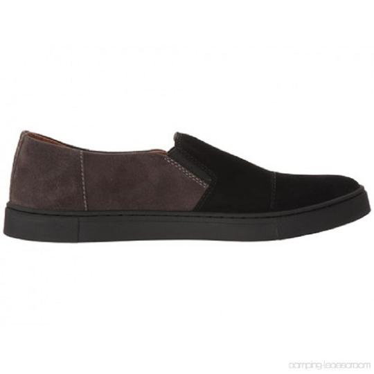 Frye Sleep On Suede Rubber Outsole Black/Gray Athletic Image 4