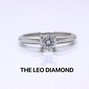 I Si1 Round Brilliant 0.51 Cts 14k White Gold Engagement Ring