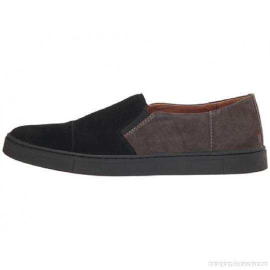 Frye Sleep On Suede Rubber Outsole Black/Gray Athletic Image 2