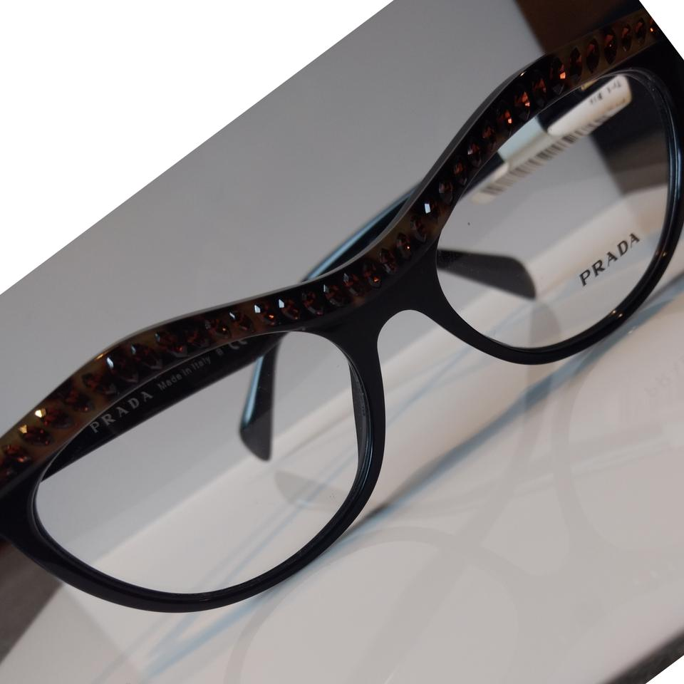 549c607eb49 Prada Havana Prescription Eyeglass Mod. Vpr 22p Ma5-1o1 52-16 Made In Italy.  Sunglasses