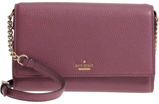 Preload https://img-static.tradesy.com/item/23997195/kate-spade-oakwood-street-corin-purple-pebbled-leather-cross-body-bag-0-3-540-540.jpg