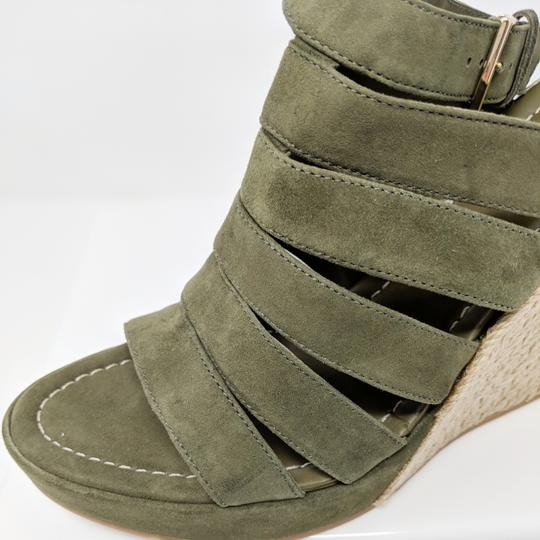 Tory Burch Green Wedges