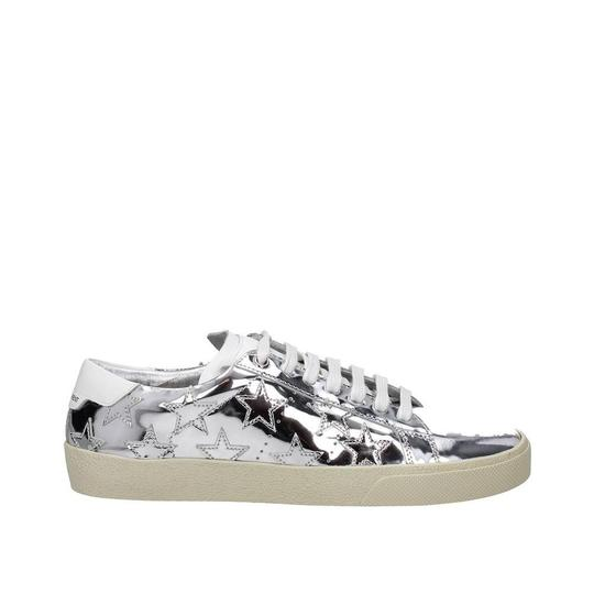 Preload https://item5.tradesy.com/images/saint-laurent-silver-patent-leather-sneakers-sneakers-size-eu-375-approx-us-75-regular-m-b-23997204-0-0.jpg?width=440&height=440