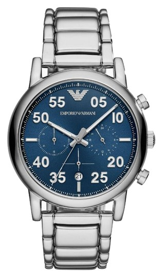 Preload https://item2.tradesy.com/images/emporio-armani-silver-men-s-sport-chronograph-blue-dial-ar11132-watch-23997246-0-1.jpg?width=440&height=440