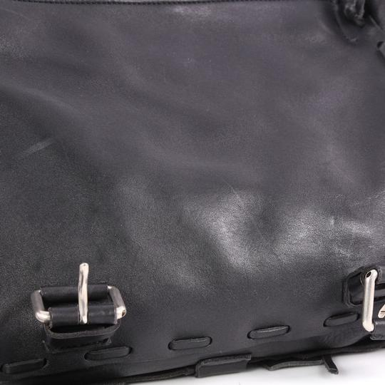 Gucci Leather Black Messenger Bag
