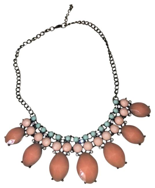 Forever 21 Coral Statement Necklace Forever 21 Coral Statement Necklace Image 1