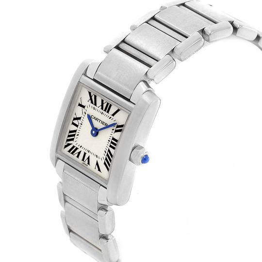 Cartier Cartier Tank Francaise Stainless Steel Ladies Watch W51008Q3 Box