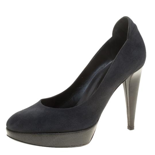 Sergio Rossi Grey Pumps