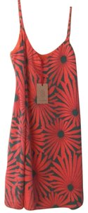 Julie Brown short dress coral and green on Tradesy