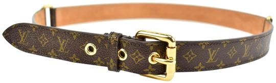 Preload https://item2.tradesy.com/images/louis-vuitton-brown-leather-and-lv-logo-fits-32-34-n-belt-23997291-0-1.jpg?width=440&height=440
