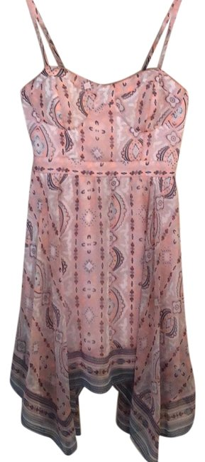 Preload https://img-static.tradesy.com/item/23997293/american-eagle-outfitters-pink-mid-length-cocktail-dress-size-petite-4-s-0-1-650-650.jpg