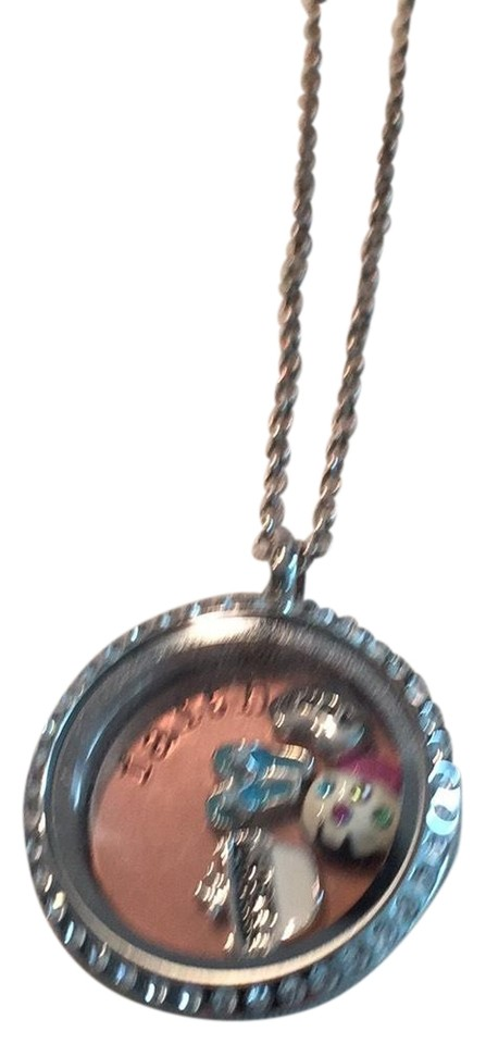 Origami Owl Pendant And Chain Necklace Tradesy