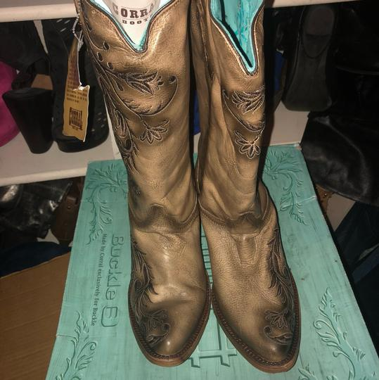 Corral Boots brown and Tan Boots
