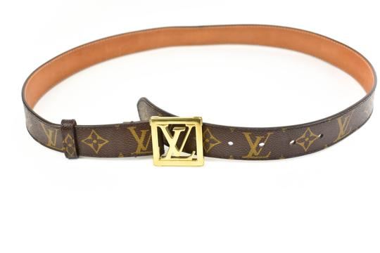 Preload https://img-static.tradesy.com/item/23997320/louis-vuitton-brown-leather-and-lv-logo-fits-31-35-q-belt-0-0-540-540.jpg