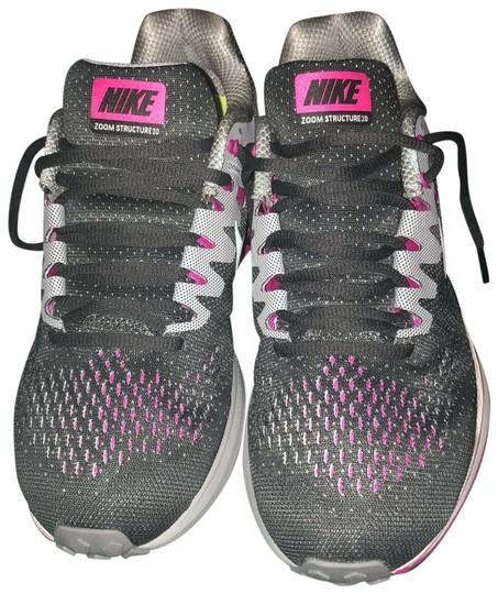 Preload https://item2.tradesy.com/images/nike-grey-and-pink-sneakers-size-us-95-regular-m-b-23997341-0-1.jpg?width=440&height=440