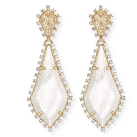 Preload https://item3.tradesy.com/images/kendra-scott-clear-white-gold-statement-august-drop-earrings-23997347-0-0.jpg?width=440&height=440