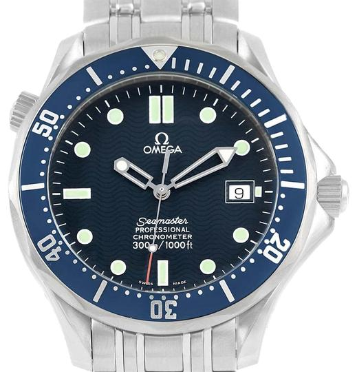 Preload https://item2.tradesy.com/images/omega-blue-seamaster-41mm-wave-dial-stainless-steel-25318000-watch-23997356-0-1.jpg?width=440&height=440