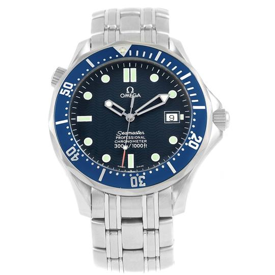 Omega Omega Seamaster 41mm Blue Wave Dial Stainless Steel Watch 2531.80.00